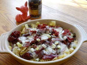Corned Beef Reuben Pasta Salad