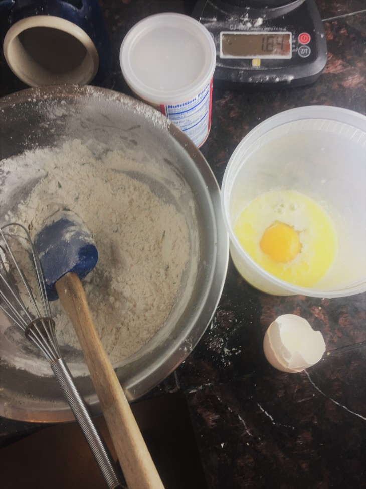 starting dumplings